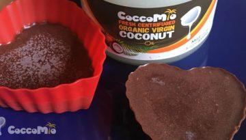 CoccoMio Chocolate Liquorice and Coconut Bark Recipe