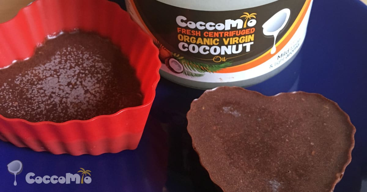 CoccoMio Chocolate Liquorice and Coconut Bark Recipe