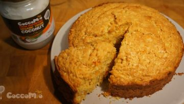 CoccoMio Coconut Carrot Cake Recipe