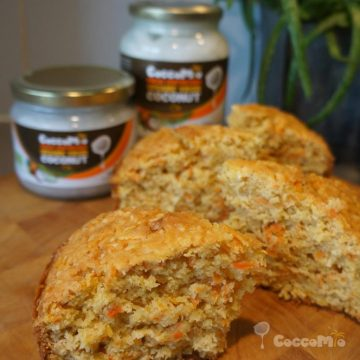 CoccoMio Coconut Carrot Cake Recipe