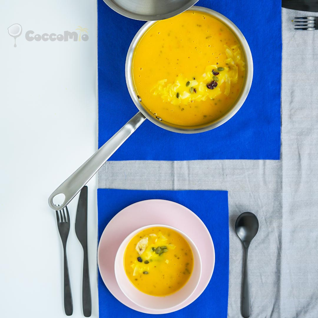 CoccoMio Coconut Carrot Soup Recipe
