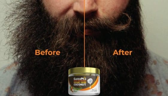 CoccoMio Coconut OIl for Men Beard