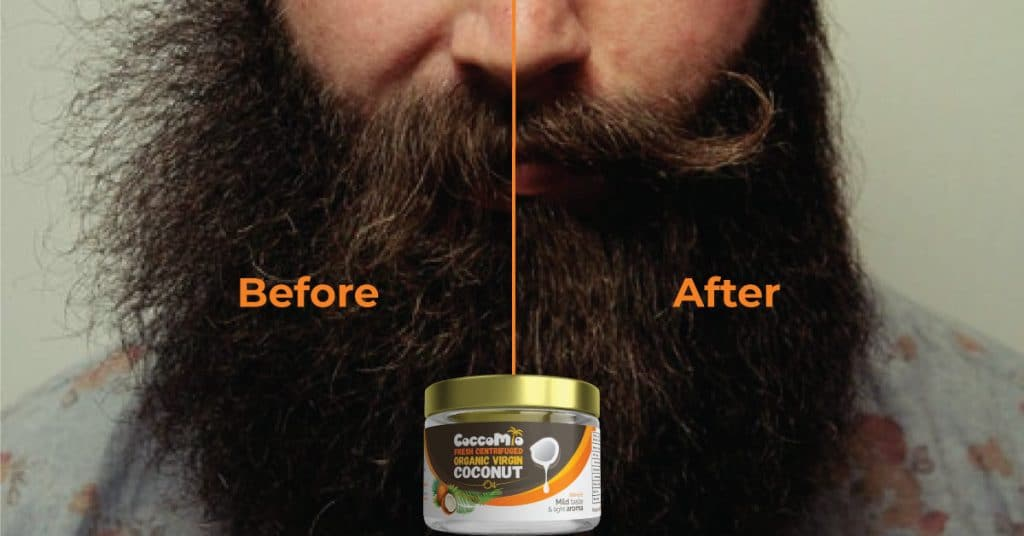 Tame your grizzly beard with coconut oil - CoccoMio