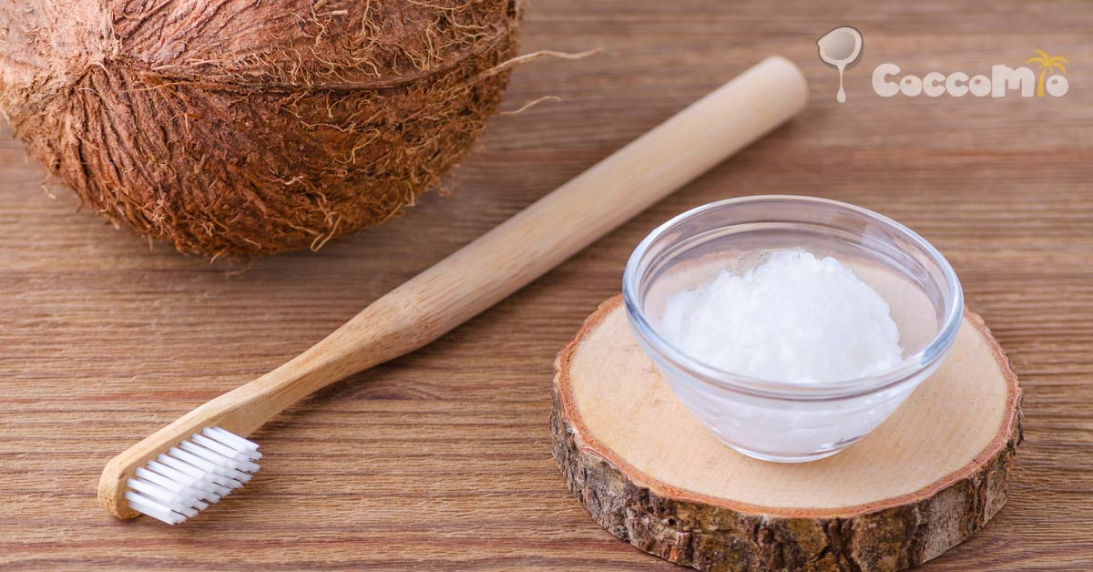 CoccoMio Coconut Oil Pulling Healthy Teeth and Gums