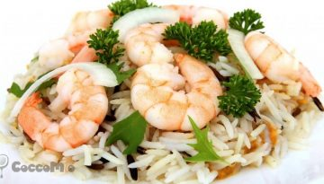 CoccoMio Coconut Rice with Shrimp Recipe