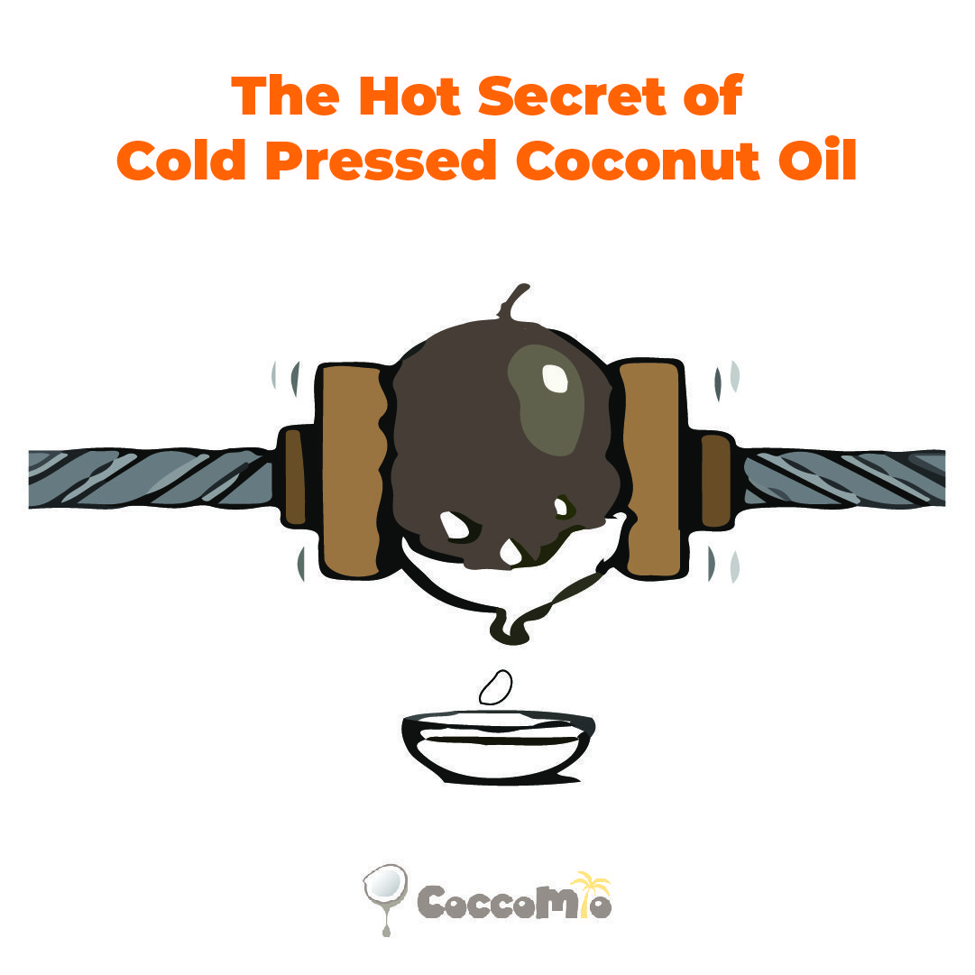 CoccoMio Cold Pressed Coconut Oil