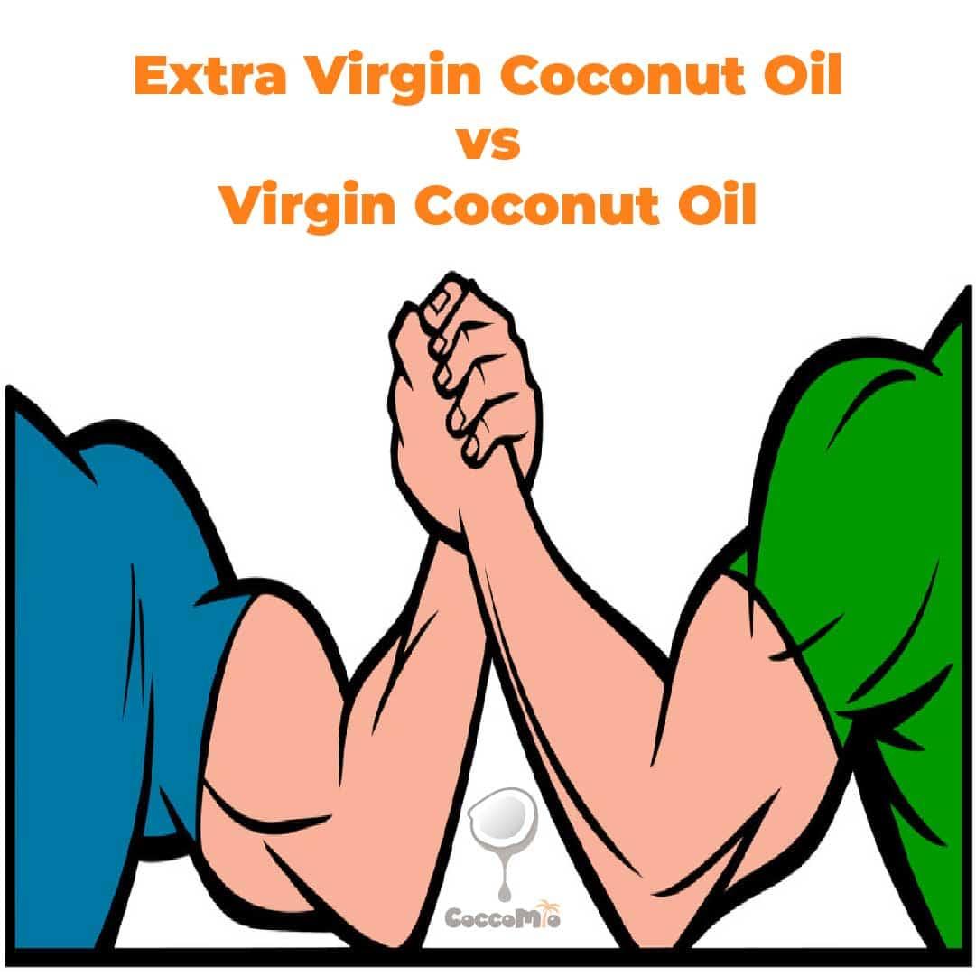 CoccoMio Extra Virgin Coconut Oil VS Virgin Coconut Oil