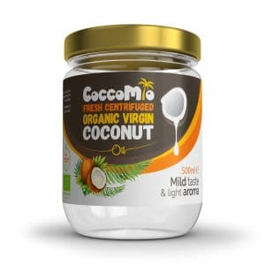 CoccoMio Fresh Centrifuged Organic Virgin Coconut Oil 500ml Jar