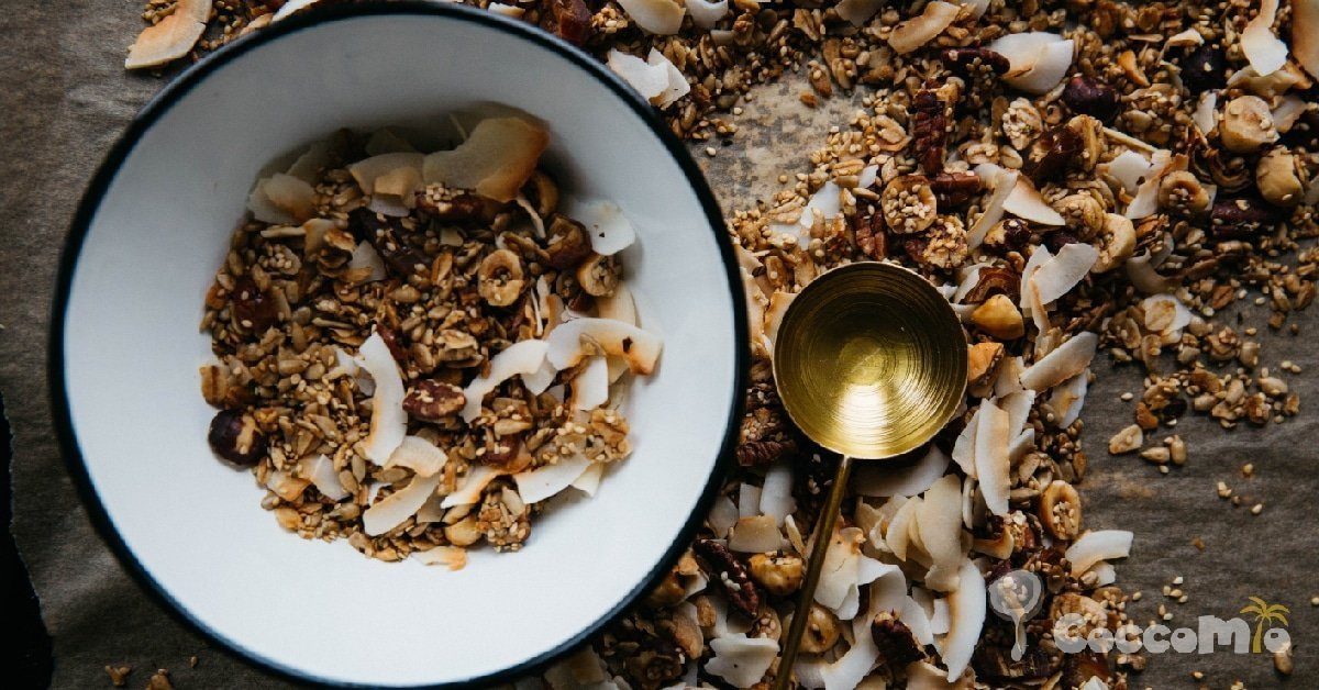 CoccoMio Granola Quinoa and Pecan Recipe