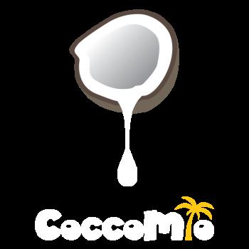 CoccoMio Logo Final White Yellow