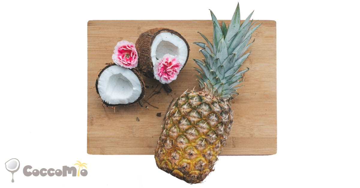 CoccoMio Raw Coconut Pineapple Cracker Recipe
