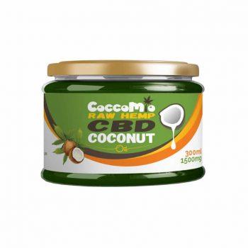 CoccoMio Raw Hemp CBD Coconut Oil 1500mg