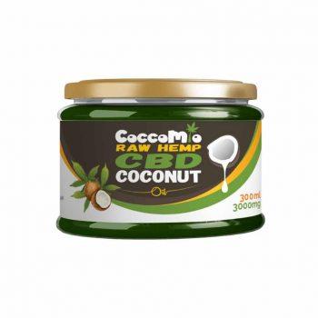 CoccoMio Raw Hemp CBD Coconut Oil 3000mg