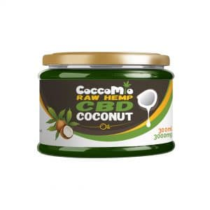 CoccoMio Raw Hemp CBD Coconut Oil 3000mg
