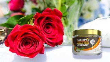 CoccoMio Coconut Rose Face Scrub Recipe