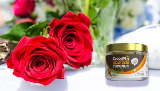 CoccoMio Coconut Rose Face Scrub Recipe