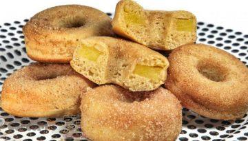 CoccoMio Vegan Apple Doughnut Fritter Recipe