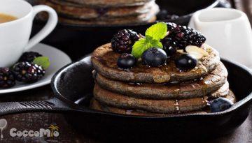 Blueberry Buckwheat Gluten-Free Pancake Recipe
